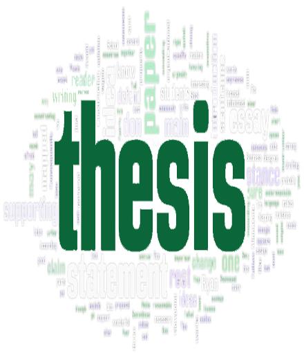 Thesis defense career management