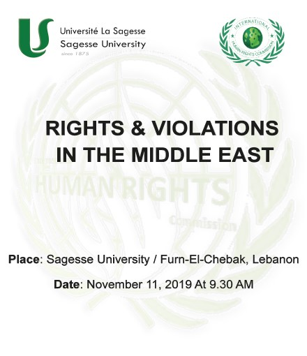 Seminar on Rights & Violations in the Middle East by ULS in collaboration with IHRC