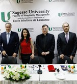 Minister of Tourism at Sagesse University