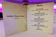 Faculty of Hospitality Management Parents Dinner 2018