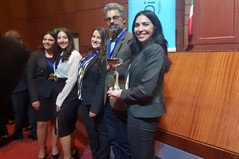 La Sagesse University Team wins the first National International Humanitarian Law Moot Court Competition