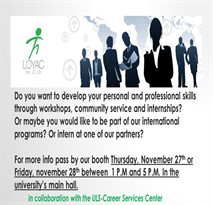 Career Services Center Event: Booth Camp