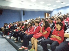 Antonine International School Students visiting S.F.H.M