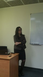 "March guest speaker: ""Ms. Balsam Khodr and Mr. Mohamad Azakir from Phoenicia InterContinental Beirut"