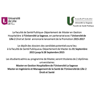 The Public Health Faculty at La Sagesse University declares Entrance Exam dates for FALL 2015-2016 Semester