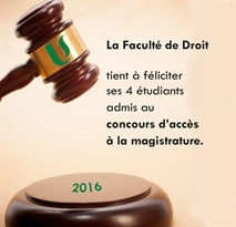 Droit Magistrature