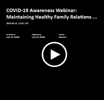 Covid-19 Awareness Webinars Video