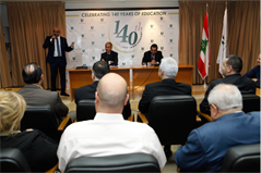BDL's Vice Governor Guest Speaker at Sagesse Business Faculty