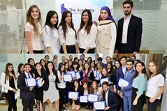 Business Students Excel at Banking Forum